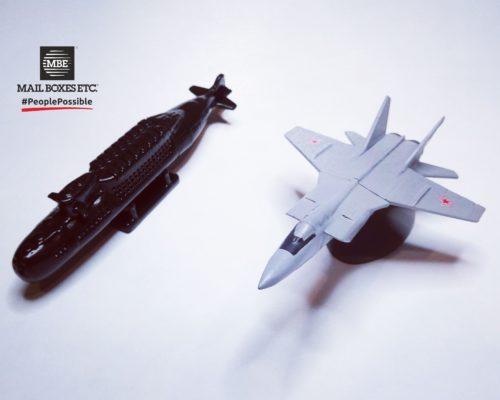подлодка и истребитель 500x400 - 3D Печать
